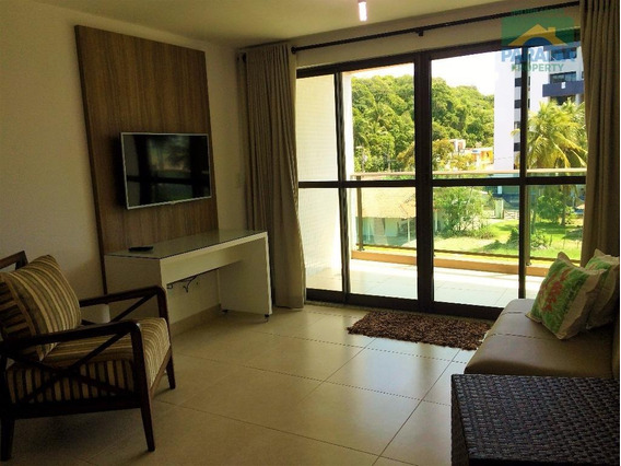 Apartamento Mobiliado Para Locação - Praia Do Cabo Branco - João Pessoa - Pb - Ap0662