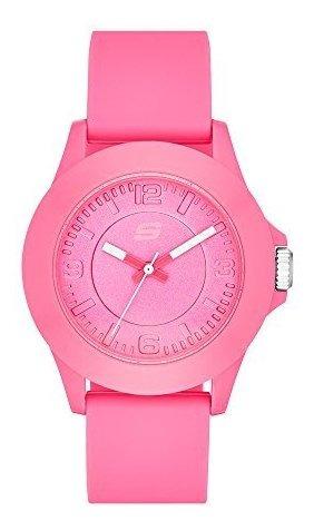 Reloj Deportivo De Cuarzo Para Mujer (plástico Y Silicona)