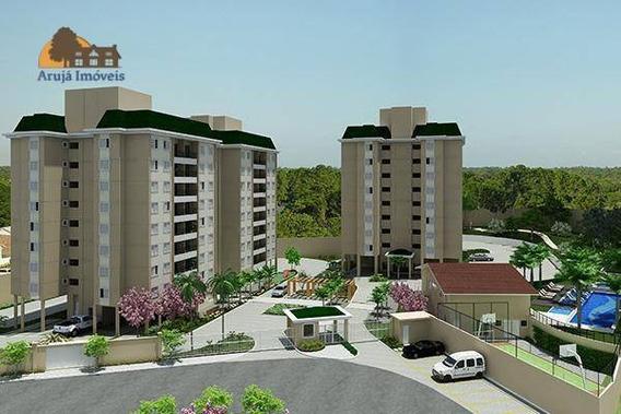 Apartamento Com 3 Dormitórios À Venda, 78 M² Por R$ 550.000 - Centro - Arujá/sp - Ap0001