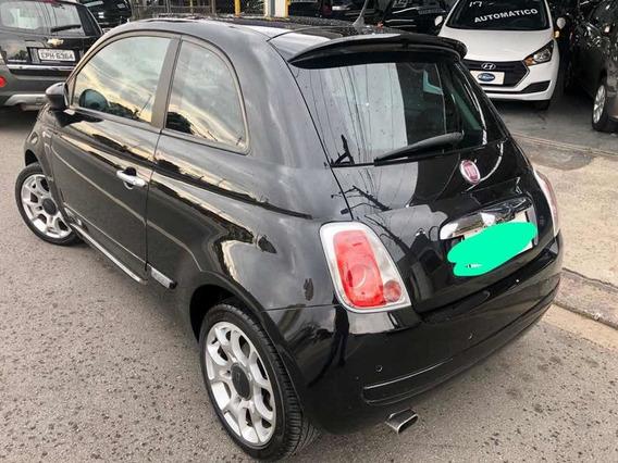 Fiat 500 2010 1.4 Sport Dualogic 3p