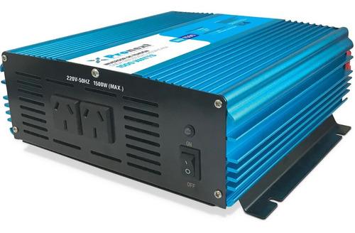 Inversor Tensión 12 Volts A 220 Volts De 1500 Watts Pronext