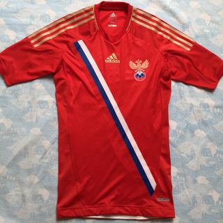 X11095 Camisa adidas Rússia Home 2012 M Techfit Fn1608