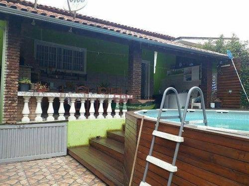 Imagem 1 de 18 de Chácara Com 3 Dormitórios À Venda, 700 M² Por R$ 310.000 - Do Taboão - Mogi Das Cruzes/sp - Ch0807