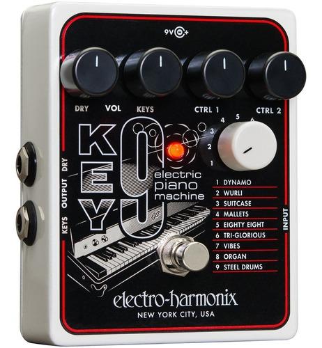 Pedal Electro Harmonix Key9 Key 9 Electric Piano Machine