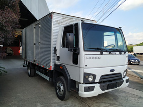 Ford Cargo 816 Ano 2014 / 2015 Bau Padrao Vuc