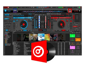 Virtual Dj Pro 8.3 4787 Tira Logo Versão Full+skins + Plugin
