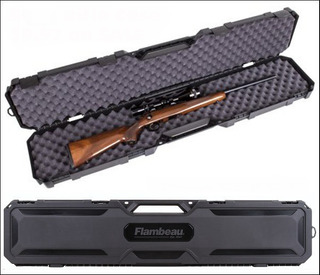Estuche Rígido Para Rifle Con Mira Telescópica
