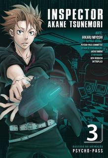 Psycho Pass 3 Inspector Akane Tsunemori! Mangá Panini!
