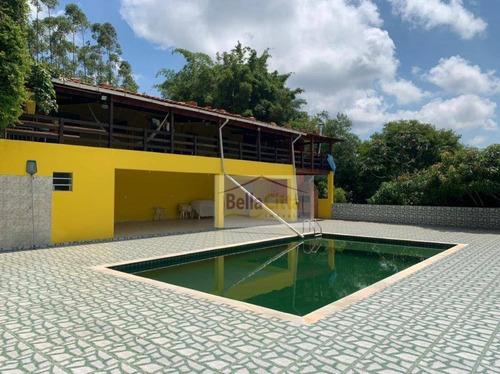 Chácara Com 5 Dormitórios À Venda, 31500 M² Por R$ 780.000,00 - Nova Arujá - Arujá/sp - Ch0028
