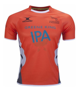 Camiseta Rugby Gilbert Oficial Newcastle Falcons Importada
