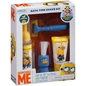 Minions - Bath Time Shave Kit - Brincando De Barbear