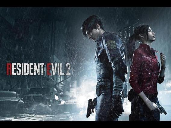 Resident Evil 2 Remake Aluguel De Ps4