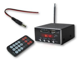 Modulo Reproductor De Memorias Usb Sd Bluetooth Radio Fm