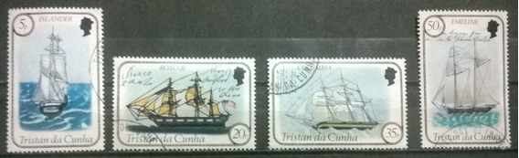 C@- Barcos - Tristan Da Cunha - Serie Completa Usada