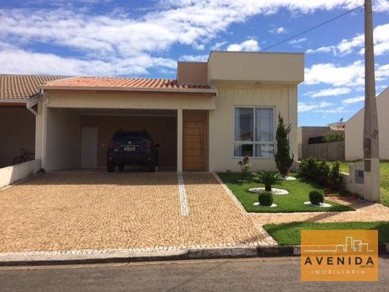 Casa Residencial À Venda, Condomínio Campos Do Conde, Paulínia. - Ca0764