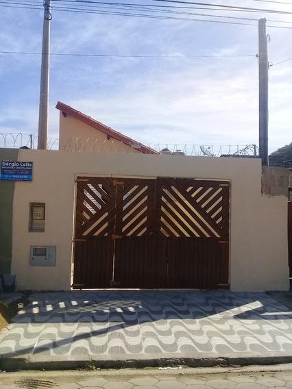 Casa Terreá Nova Com Edicula A Venda Em Mongaguá Ref-468