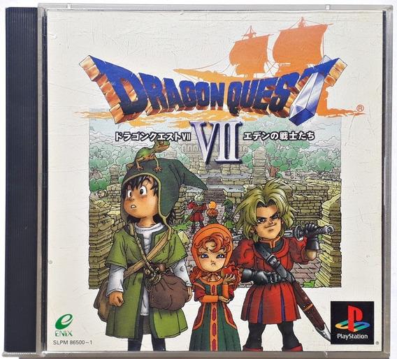 Jogo Dragon Quest Vii Playstation Ps1 Psx Original Japonês