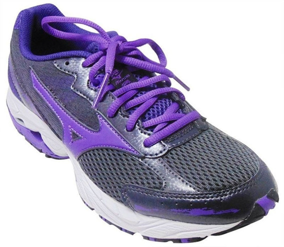Mizuno Wave Legend 2 W Grafite Roxo - Original - Dy
