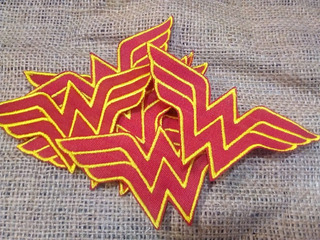 Parche Bordado Wonder Woman Mujer Maravilla