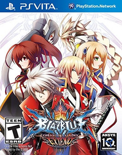 Juegos,blazblue Chrono Phantasma Extend - Playstation Vi..