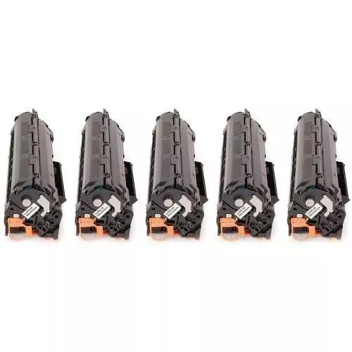Kit 5 Cartuchos Toner Impressora P1102 1102 P1102w 1102w