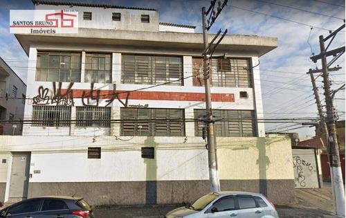 Galpão, 750 M² - Venda Por R$ 1.610.000,00 Ou Aluguel Por R$ 9.000,00/mês - Limão (zona Norte) - São Paulo/sp - Ga0113