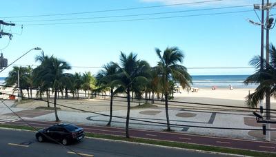 Apartamento Com Vista Mar Na Tupi Em Praia Grande