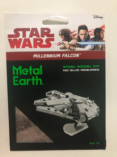 Star Wars Millenium Falcon Methal Earth Fascinations