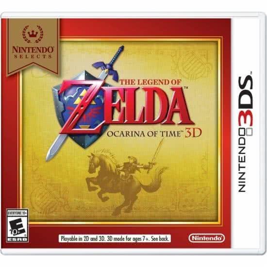 Zelda Ocarina Time Nintendo Selects 3ds Lacrado 12x S/juros