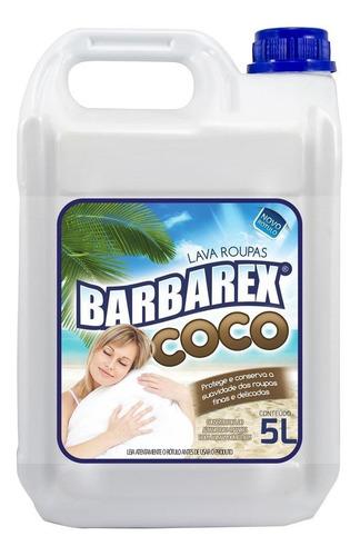 Lava Roupas Coco Barbarex 5l