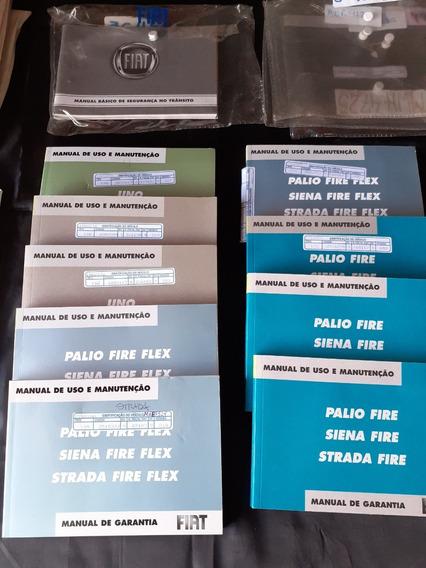 9 Manuais De Carro Fiat Fire /palio/ Siena/ Strada