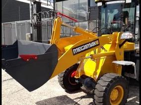 Pá Carregadeira Megamak 918, 1500kg, 0,6m³ - Pronta Entrega