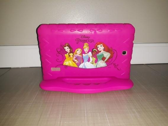 Tablet Multilaser M7s Plus Com Capinha De Borracha Disney Pr