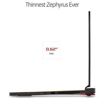 Asus Rog Zephyrus S Ultra Slim Gaming Pc Laptop, 15.6 144hz