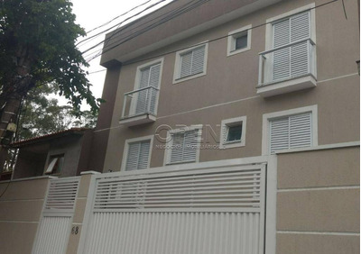 Cobertura Com 2 Dormitórios À Venda, 112 M² Por R$ 362.000 - Jardim - Santo André/sp - Co1967