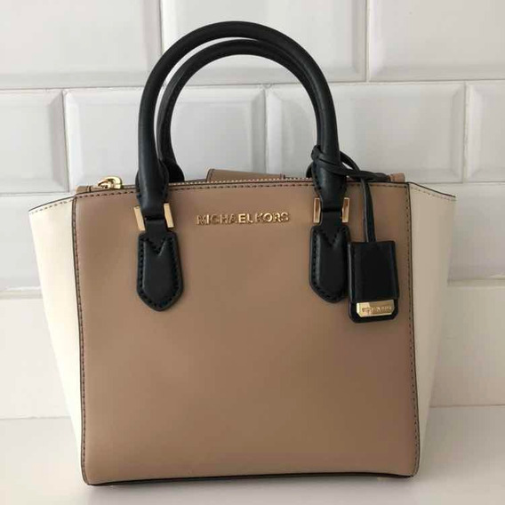 Michael Kors Cartera Maletin Cuero Original Carolyn Satchel