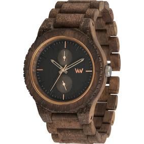 Relógio Wewood - Kean Textile Choco - Wwke02