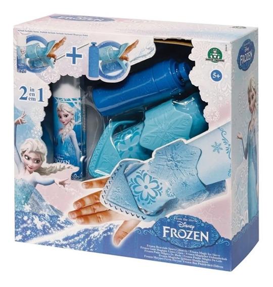 Brinquedo Infantil Bracelete Mágico De Gelo Frozen Lançador