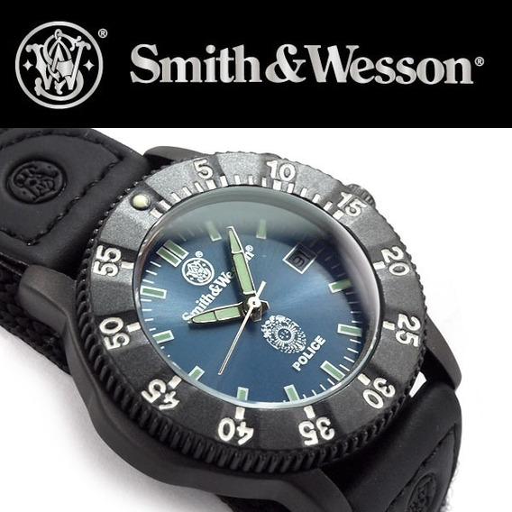 Relógio Smith&wesson Police Sww-455p Militar