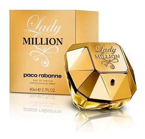 Perfume Original Lady Million --- 80ml --- Paco Rabanne