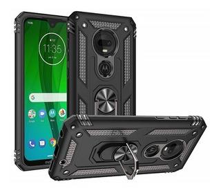 Estuche Protector Armor Ring Motorola Moto G7 / G7 Plus