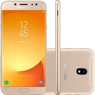 Samsung Galaxy J7 Pro J730g 64gb Dual 4g Dourado Mancha Tela