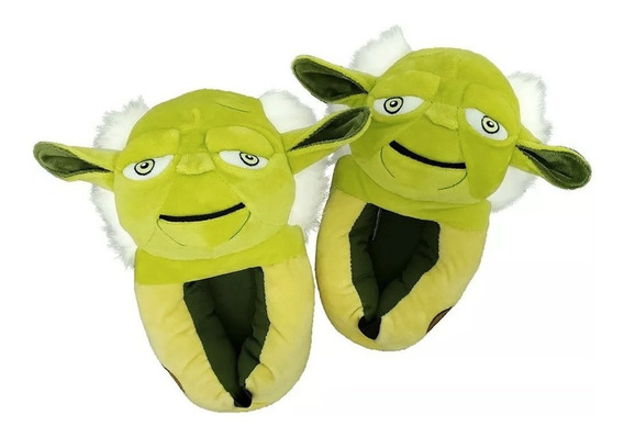 Pantufa Star Wars 3d Mestre Yoda - Ricsen - Original Disney