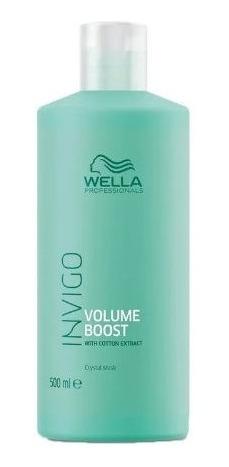 Máscara Wella Invigo Volume Boost Crystal Mask 500ml