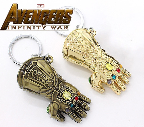 Llavero Guante Del Infinito Avengers Marvel Thanos Infinity