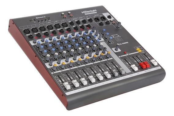 Mesa De Som Ll Audio Millenium Mx1002d C/ 10 Canais