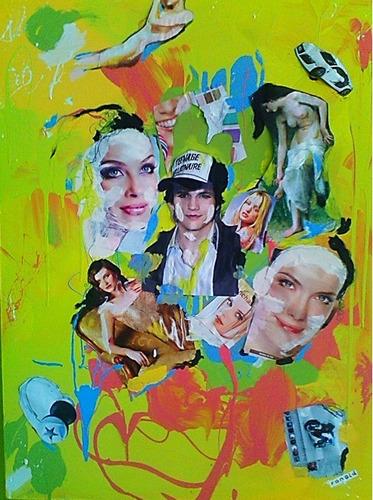 Imagen 1 de 1 de Pintura Abstracta Aston Kutcher