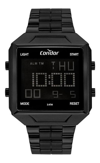 Relógio Masculino Condor Digital Cobj2649ad/4p 42mm Preto