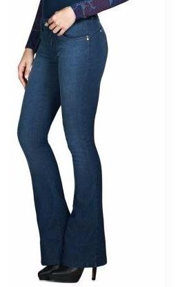 Calça Jeans Levanta Bumbum Modelo Flare