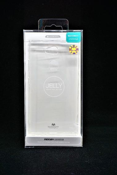 Funda Xperia L2 Goospery Transparente Jelly Case
